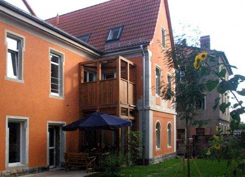Altes Waschhaus Dresden barrierefreie  Ferienwohnungen.