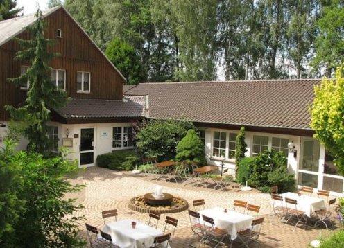 Hotel und Restaurant Zur Lochmühle im Sächsischen Burgenland