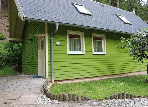 Ferienanlage Steintal Geraberg barrierefreies Ferienhaus