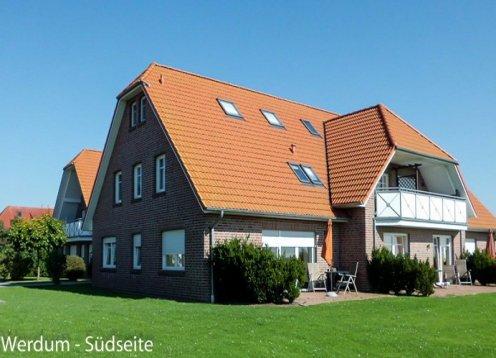 Haus Werdum barrierefreier Urlaub an der Nordsee in Ferienwohnungen
