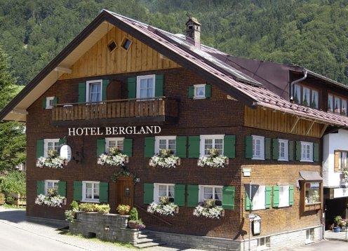Hotel Bergland in Oberstdorf im Allgäu - Doppelzimmer und Appartements