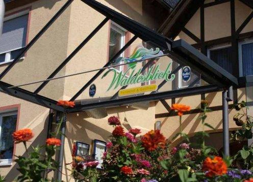 Waldesblick Hotel Restaurant in Lahr im schönen Hunsrück