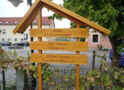 Ferienwohnungen Dietrich inmitten der Sächsischen Elbweindörfer