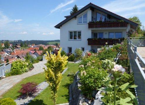 Haus Abendrot Ferienwohnung 1 in Scheidegg im wunderschönen Allgäu