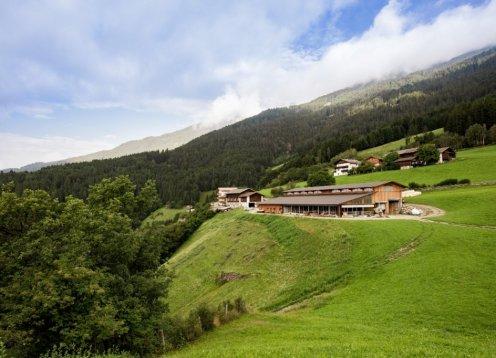 Wohnpavillons auf dem Dietrichhof in Schnauders Südtirol Italien