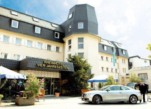 Rheinhotel Vier Jahreszeiten in Bad Breisig im mittleren Rheintal