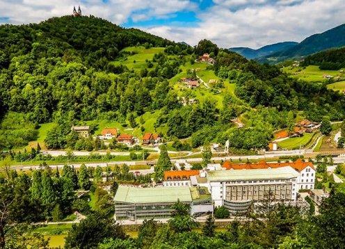 Hotel Zdravilišče Laško in Slowenien am Fluss Savinja barrierefrei