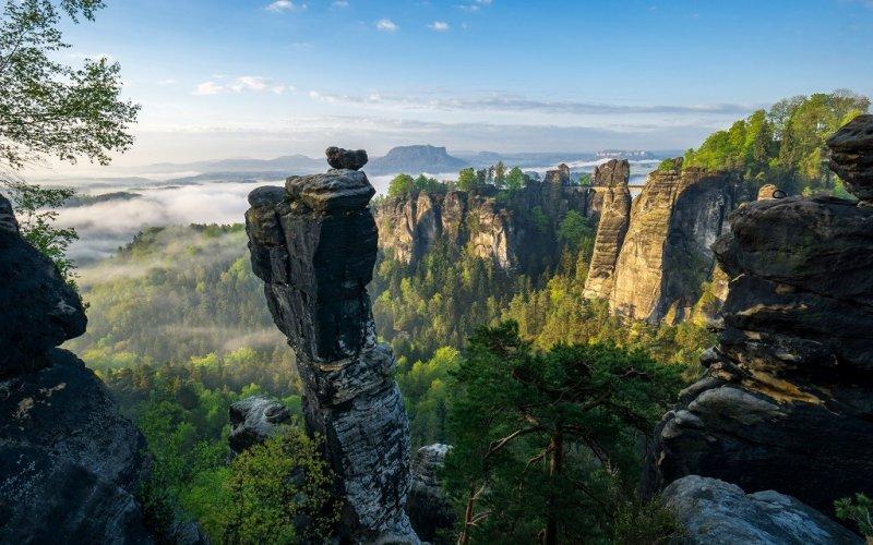 Urlaubsregion Sachsen - nicht nur Elbsandsteingebirge und Dresden